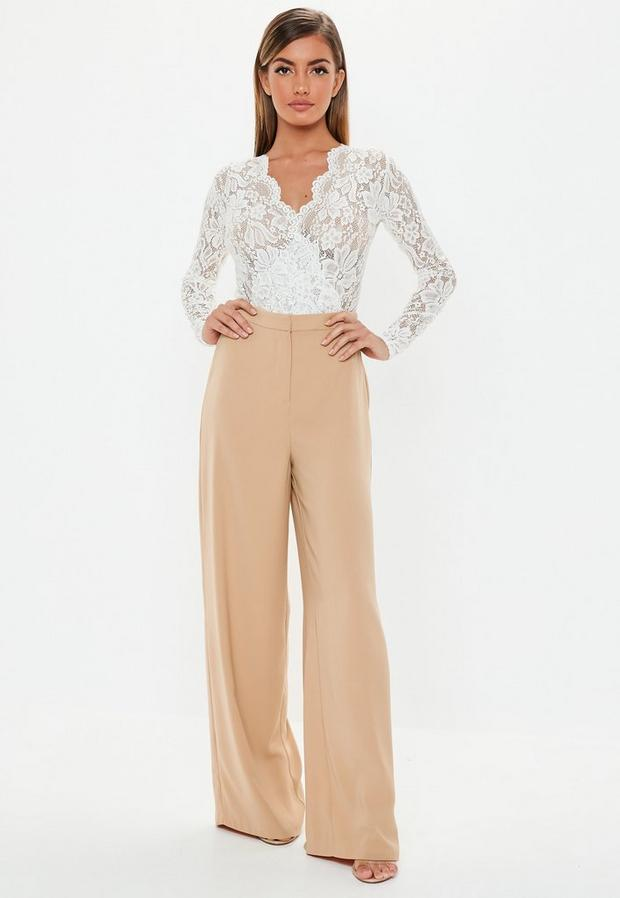 Missguided - Wide Leg Trousers - 1