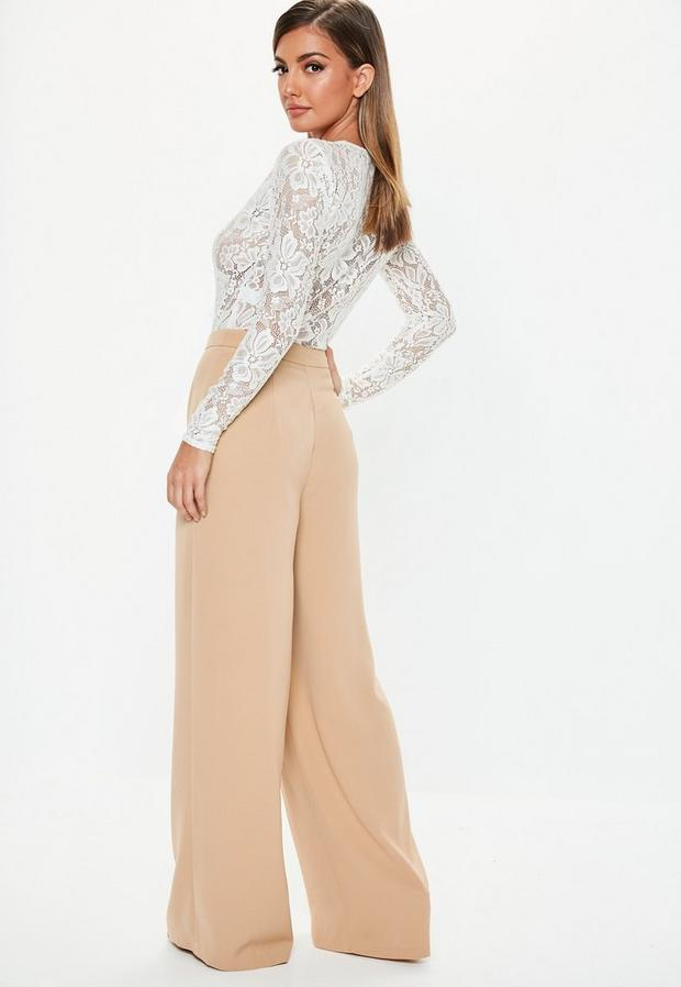 Missguided - Wide Leg Trousers - 2