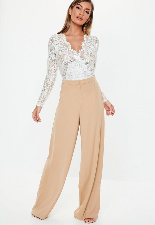 Missguided - Wide Leg Trousers - 4