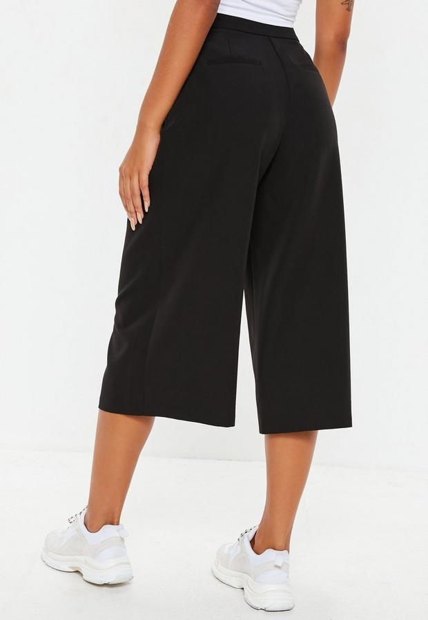 Missguided - Pleated Front Culottes - 2