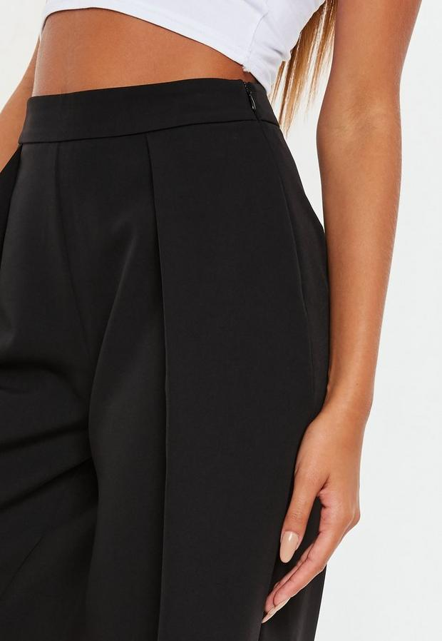 Missguided - Pleated Front Culottes - 4