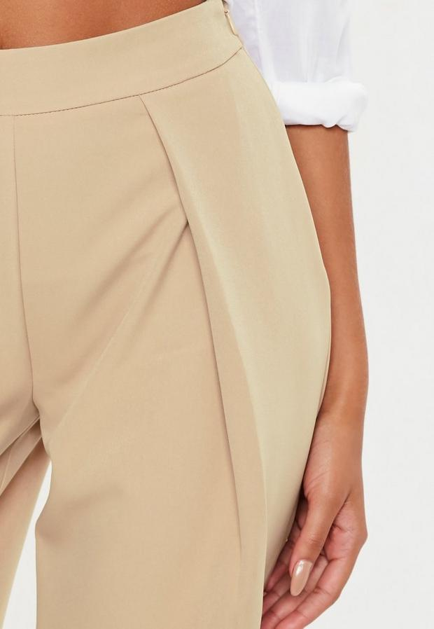 Missguided - Pleat Front Culotte Trousers - 3
