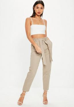 Brown Cargo Pants
