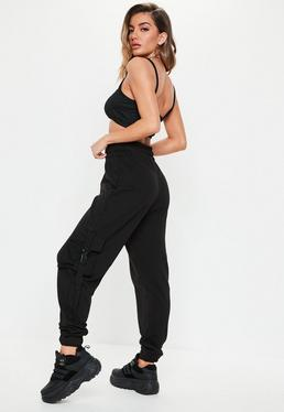 add594afa135cc Women's High Waisted Trousers & Pants - Missguided Ireland