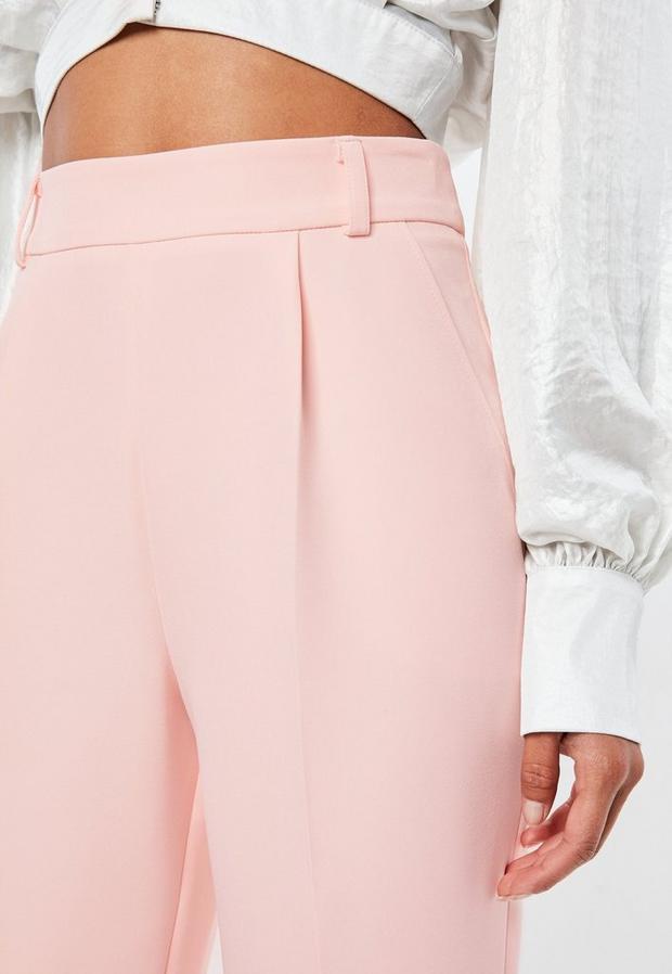 Nude Pantalon fuselé rose Peace + Love