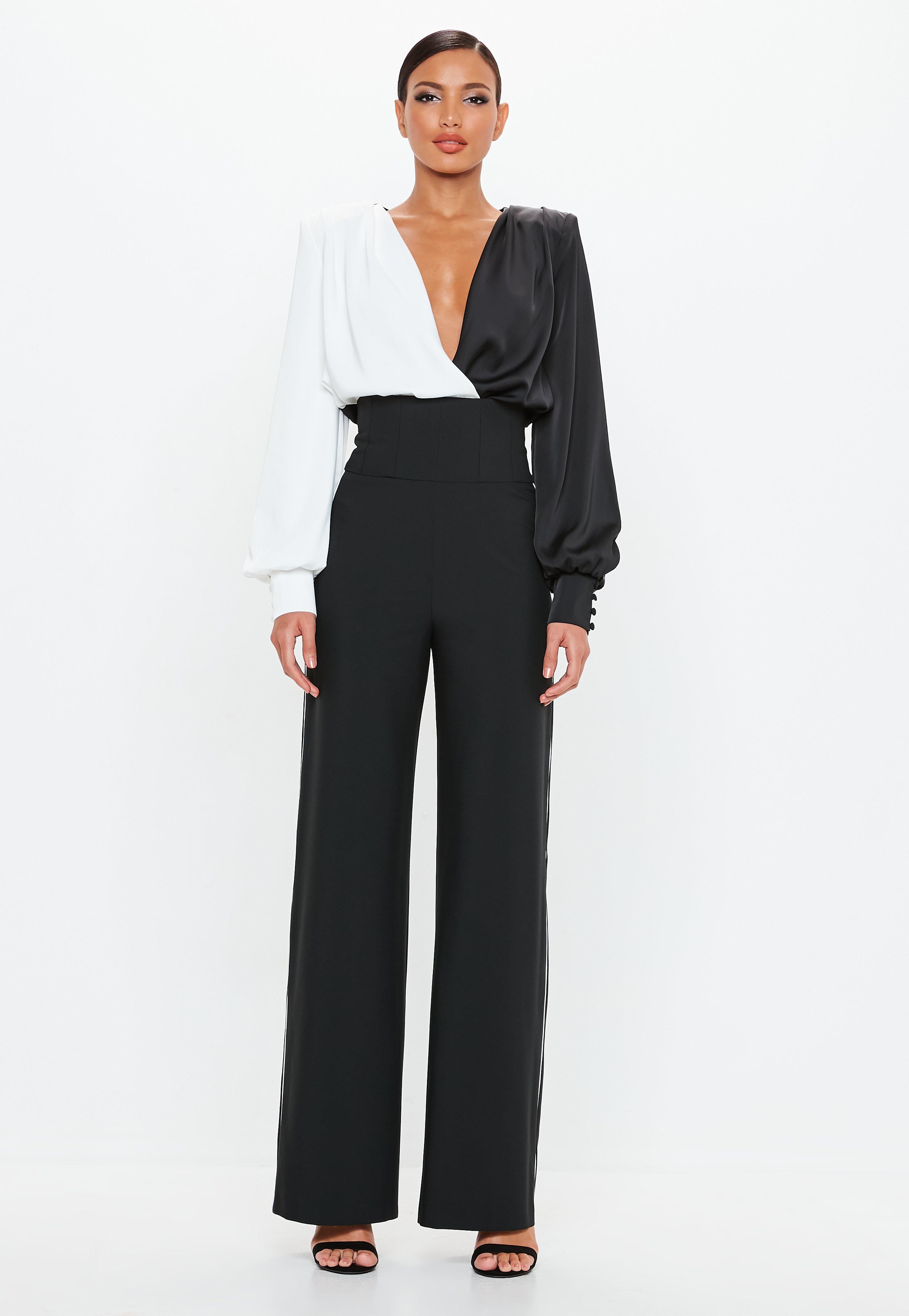 3b39ab9f7ce0 Pantalon taille haute pour femme - Missguided