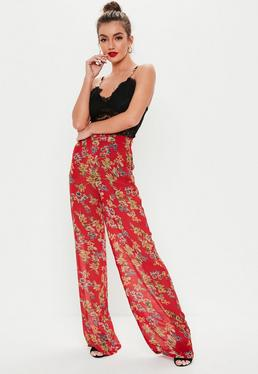 e468a3a7d1 High Waisted Wide Leg Trousers