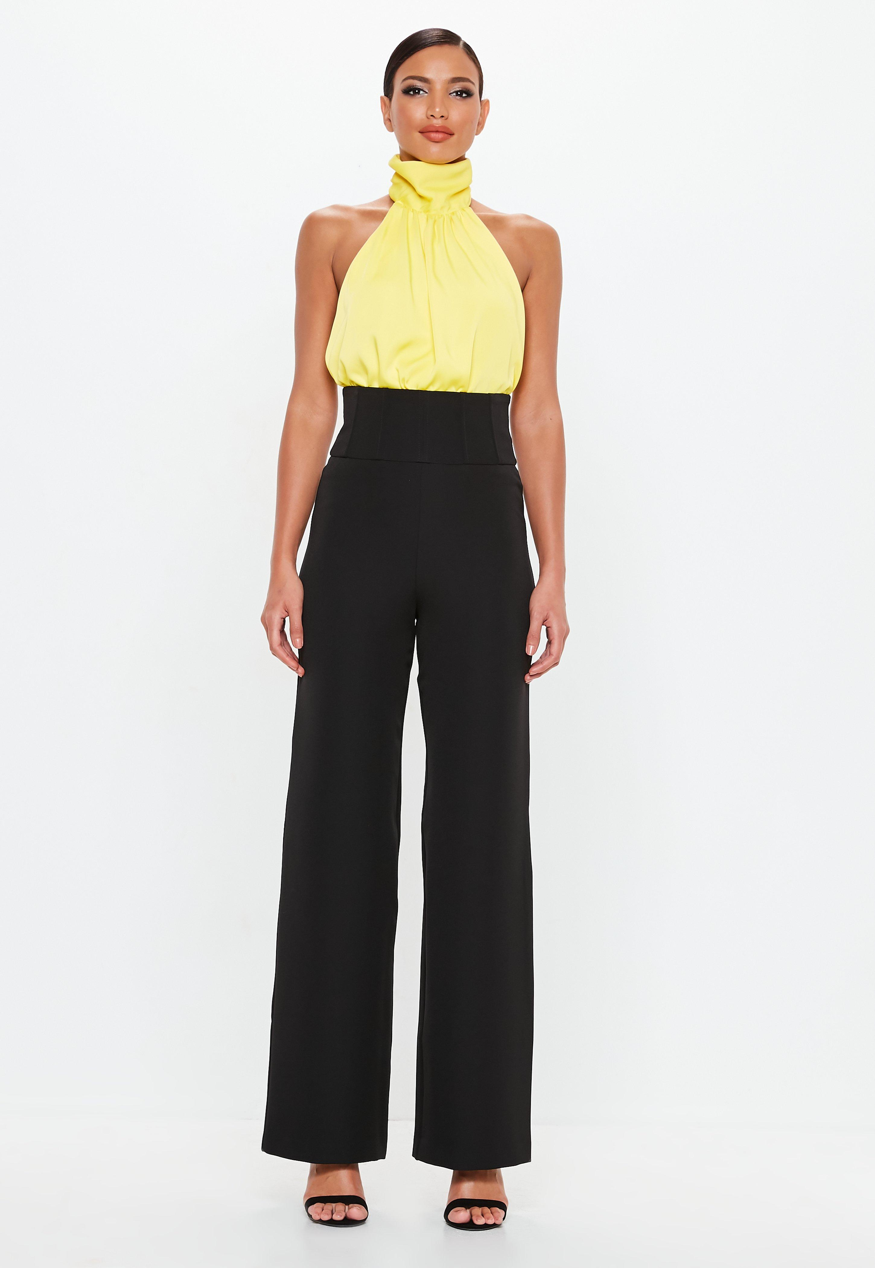 Pantalon large - Achat pantalon fluide pour femme - Missguided c5367b271ea8