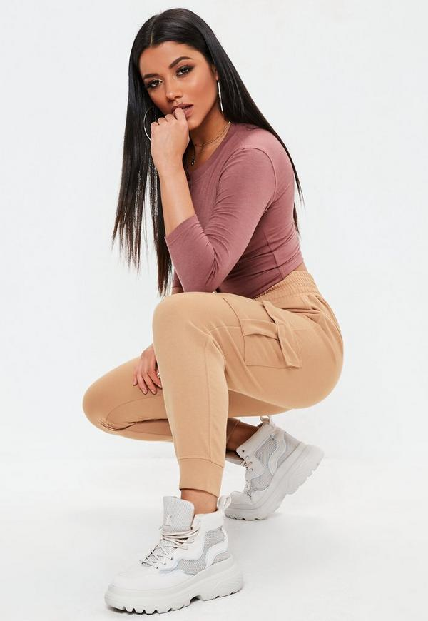 Sandstorm Loopback Cargo Joggers by Missguided