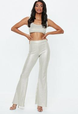 6ab5650740d20a Ribbed Trousers