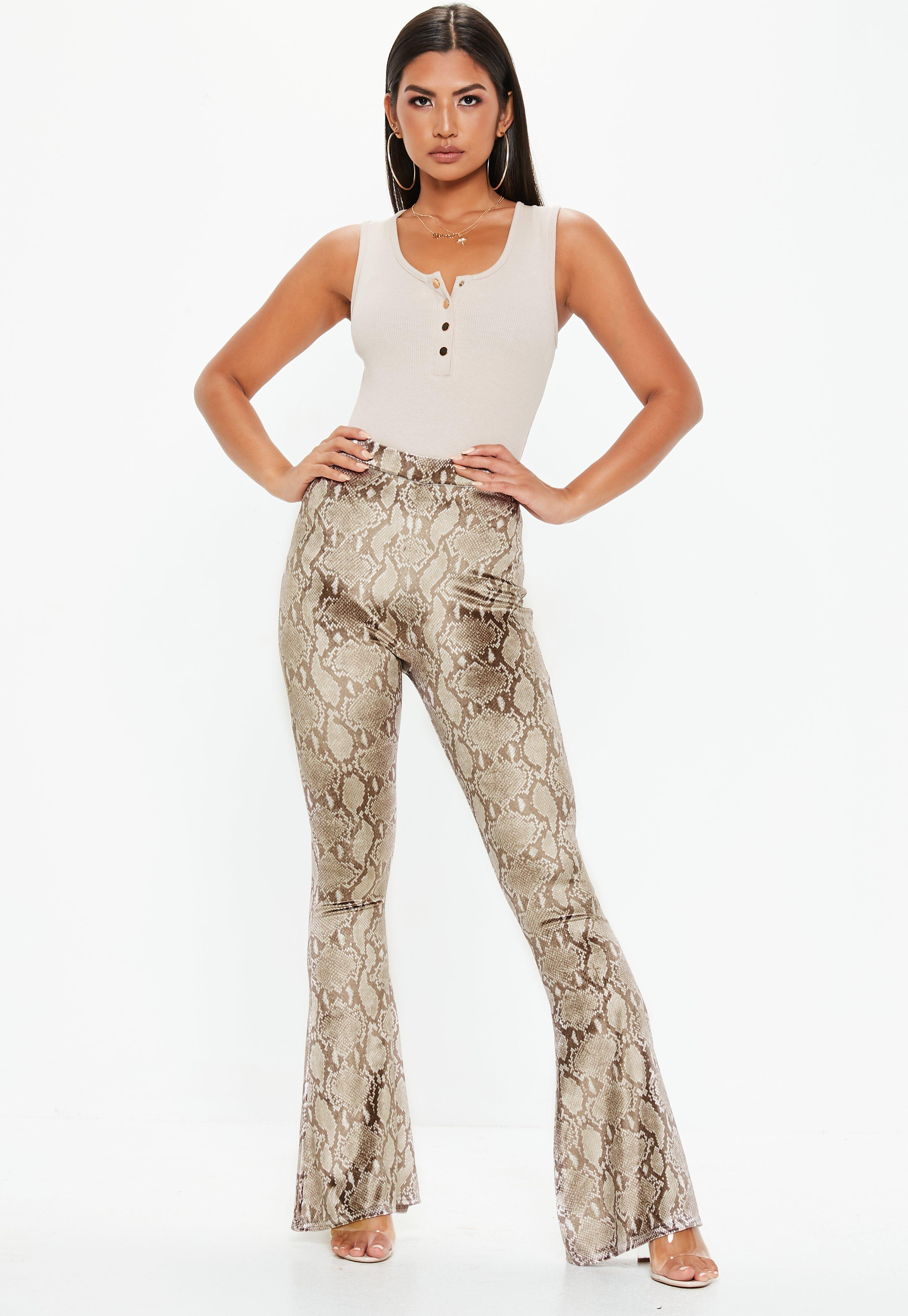 Flared Pants - Womens High Waisted Flares - Missguided 0f028b3c4