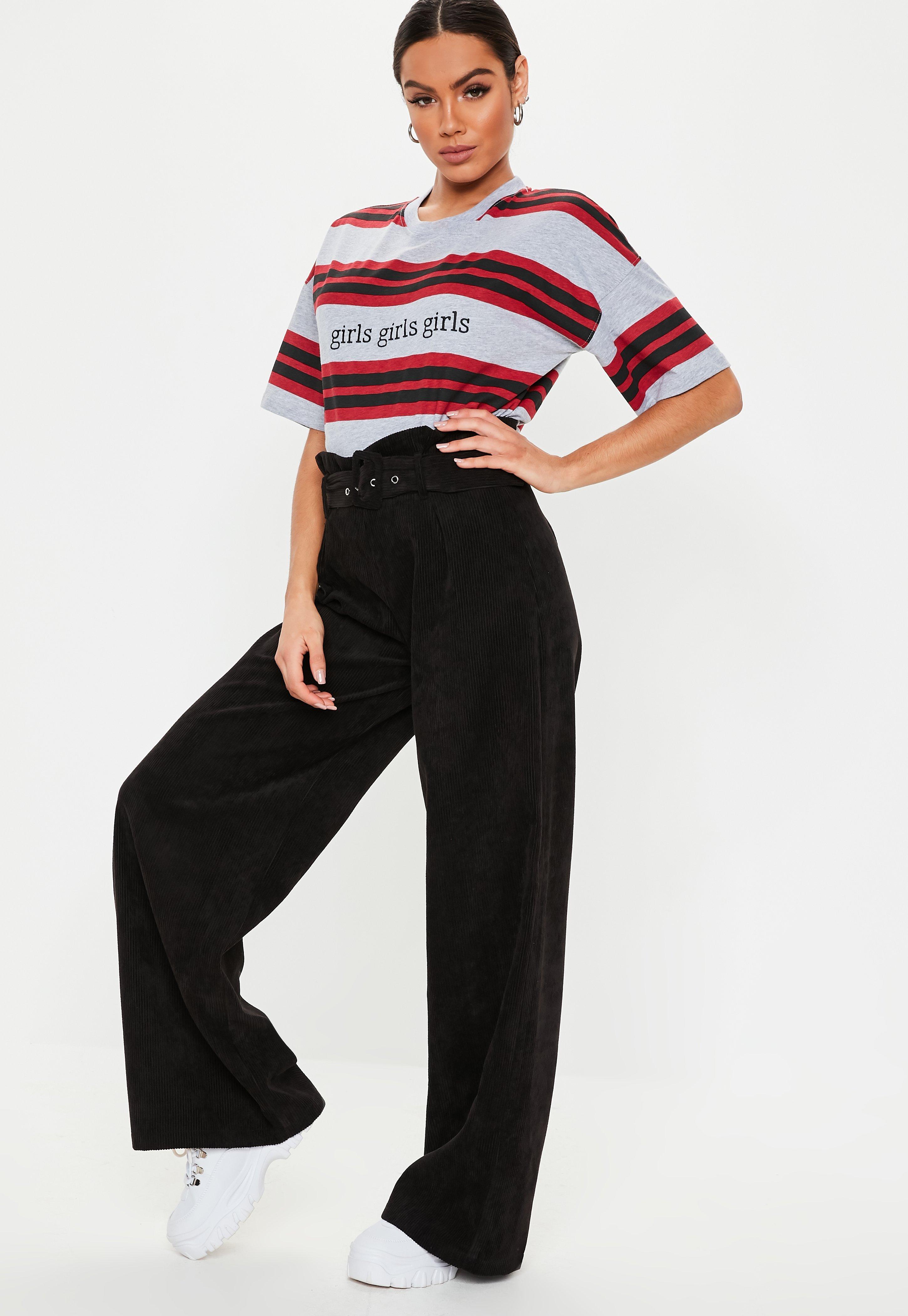 Pantalon femme   Pantalon été en ligne - Missguided 4ebb8077cf6e