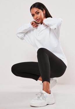 ac52ca5016245 Leggings - Wet Look, Leather & Jersey Leggings   Missguided