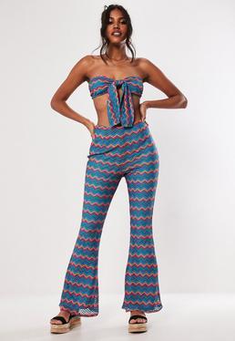 3ab4ffd540 Wide Leg Pants- Palazzo   Loose Fit Pants Online