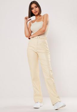 2418ab4bd63937 Leather Trousers | Faux Leather Trousers | Missguided