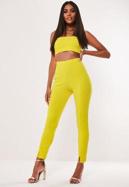 Сигаретные брюки скинни Yellow Co Ord