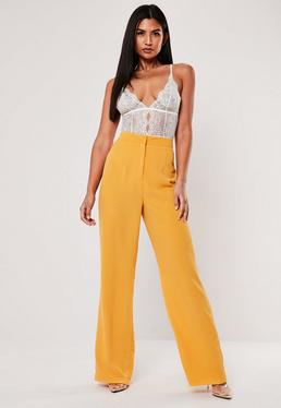 52718ac8 Wide Leg Trousers   Palazzo & Loose Trousers - Missguided