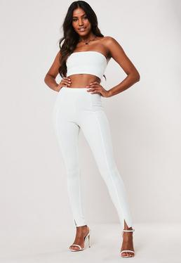 467746530d White Trousers | Women's White Trousers Online - Missguided