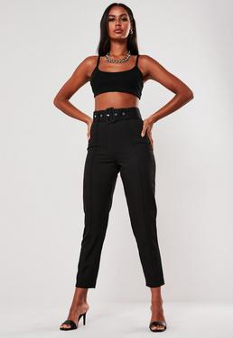 trousers for women work trousers pants missguided