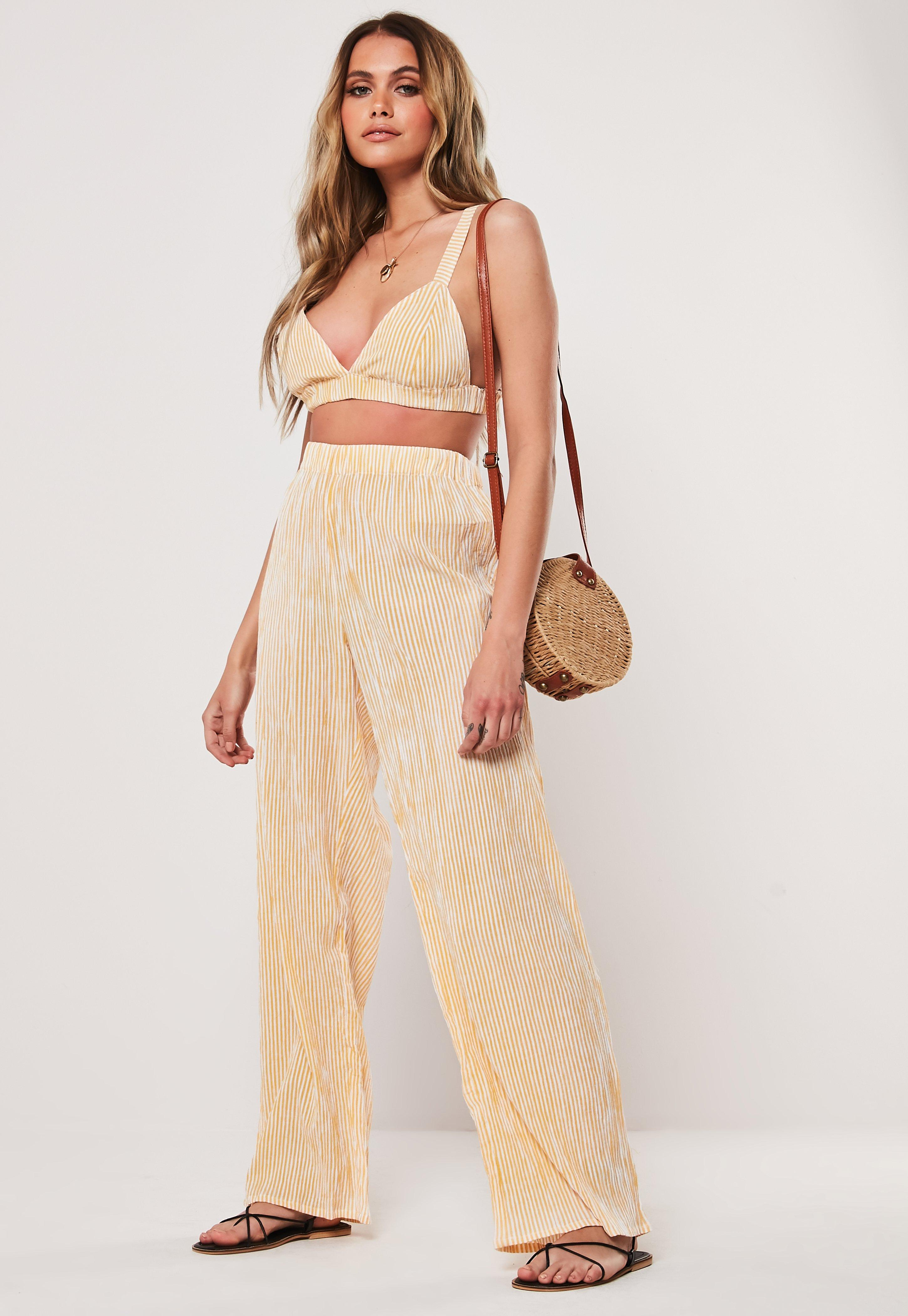 8f44572ef3920f Wide Leg Trousers   Palazzo Trousers   Missguided