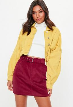 bc2c5075b3 Red Skirts | Burgundy & Maroon Skirts - Missguided
