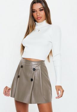 82e5a297406 High Waisted Skirts - Skirts - Clothing
