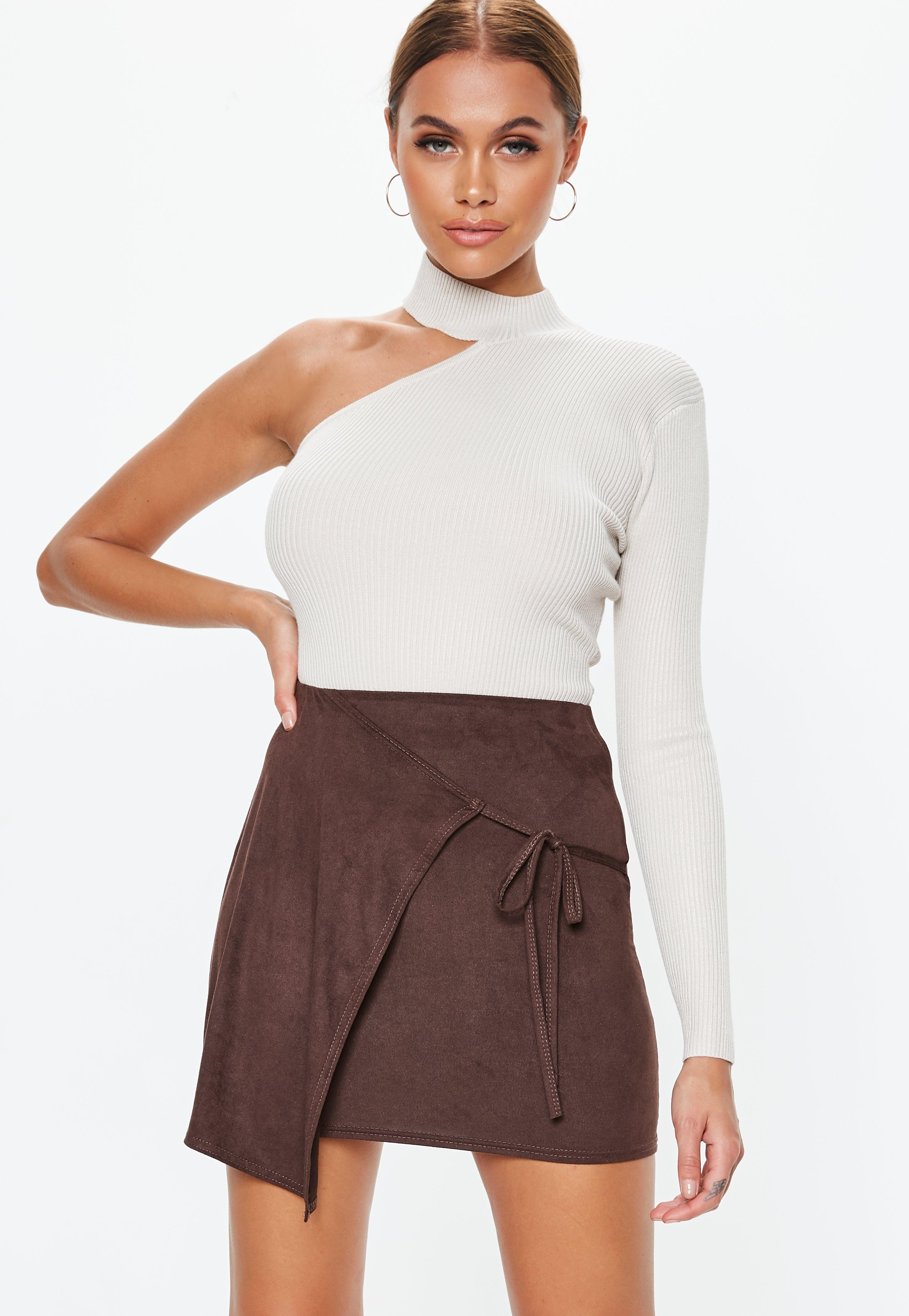 f254835970 Suede Skirts | Faux Suede & Suedette Skirts - Missguided