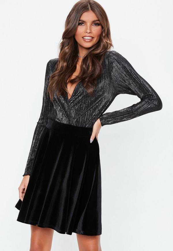 ... Black Velvet Skater Skirt. Previous Next 78b06ed13fb5