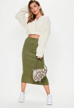 dd7d0141fa Midi Skirts | Knee Length & Mid Length Skirts - Missguided