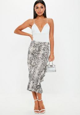 dd7d0141fa Midi Skirts | Knee Length & Mid Length Skirts - Missguided