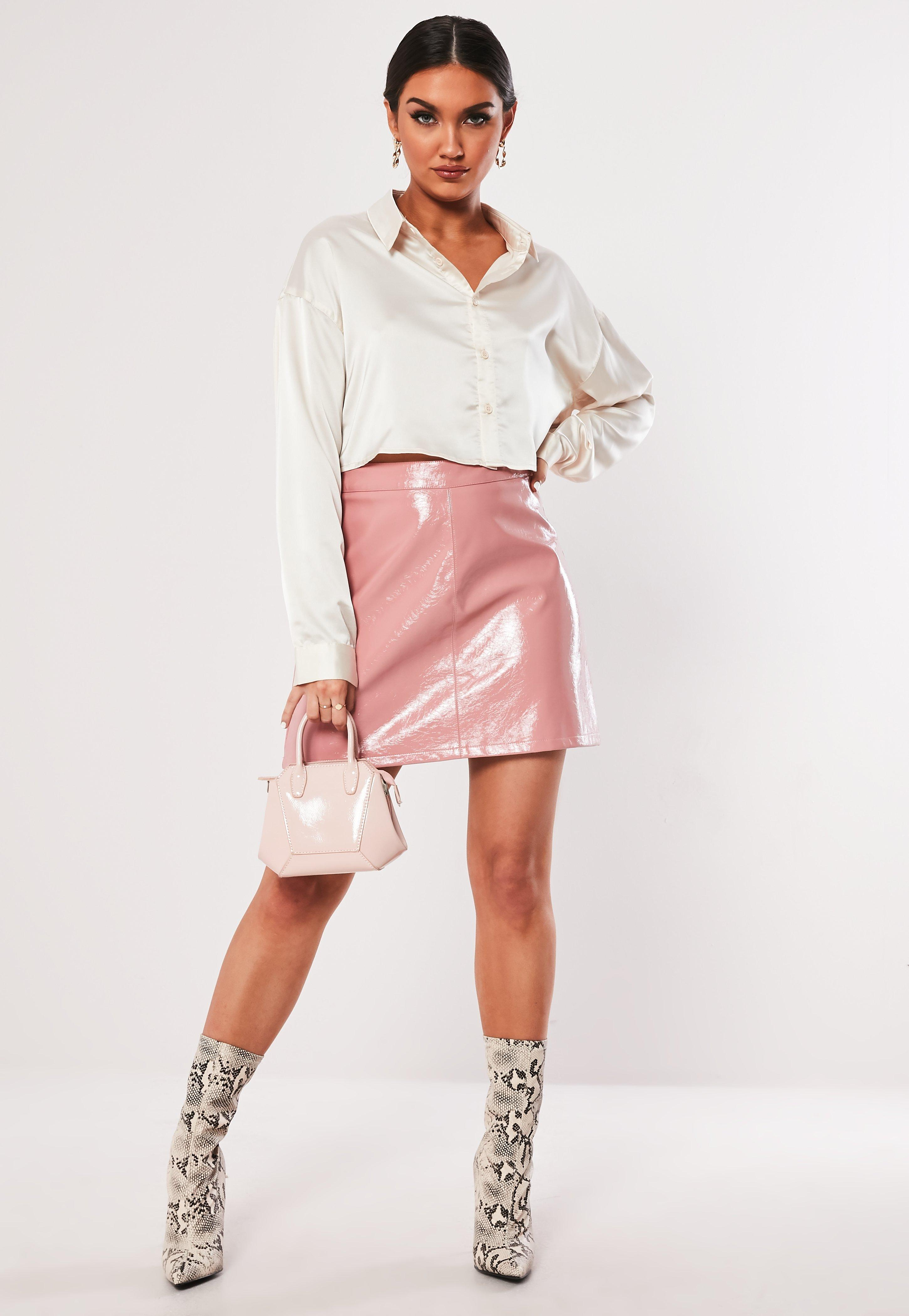 f2ddb9e8e0b8 Faux Leather Skirts & Leather-Look PU Skirts - Missguided