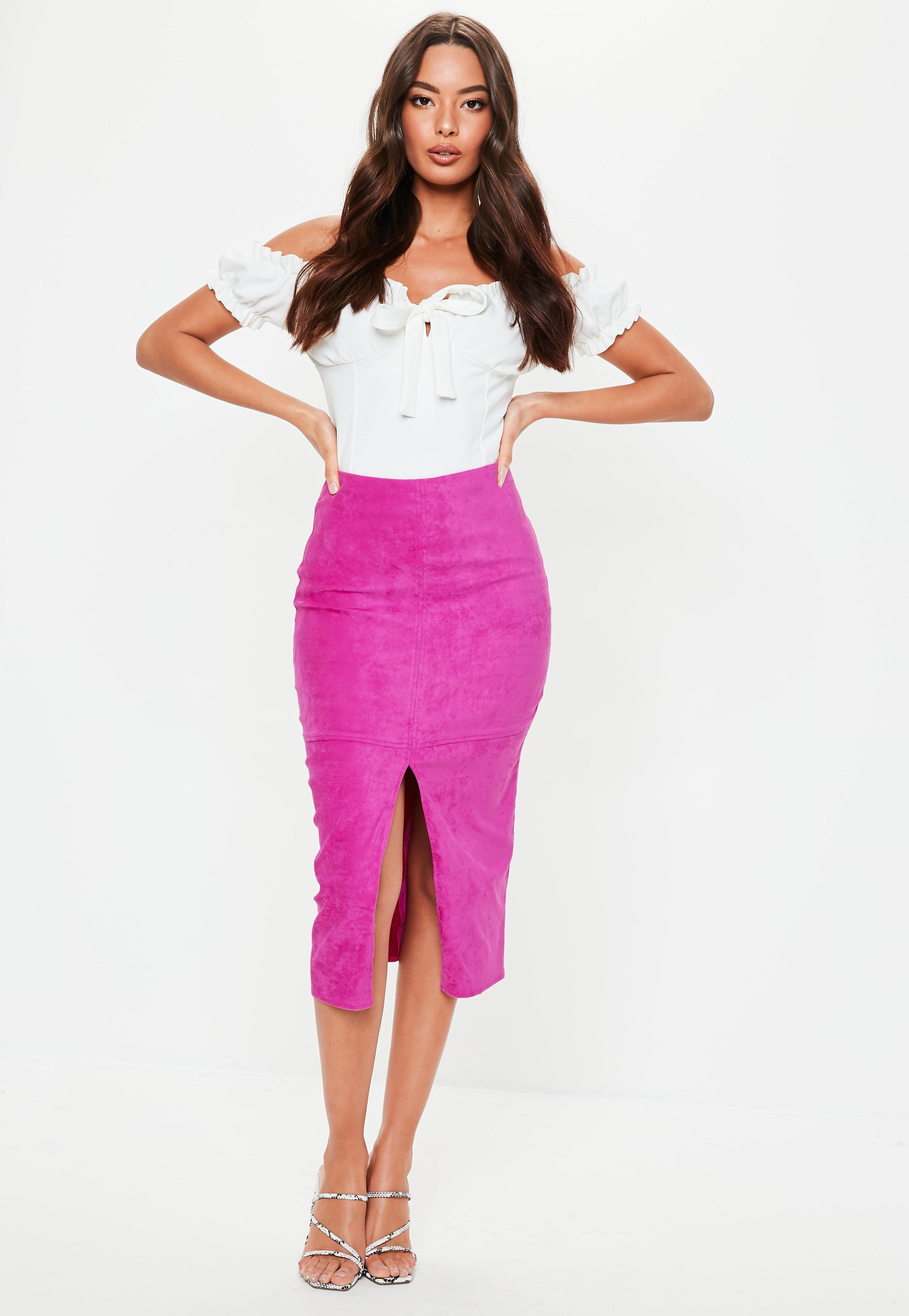 2d9c2e301a64a Pink Skirts | Hot Pink & Light Pink Skirts - Missguided