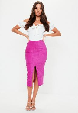 c7be54f80da7 Suede Skirts - Women s Faux Suede Skirts Online