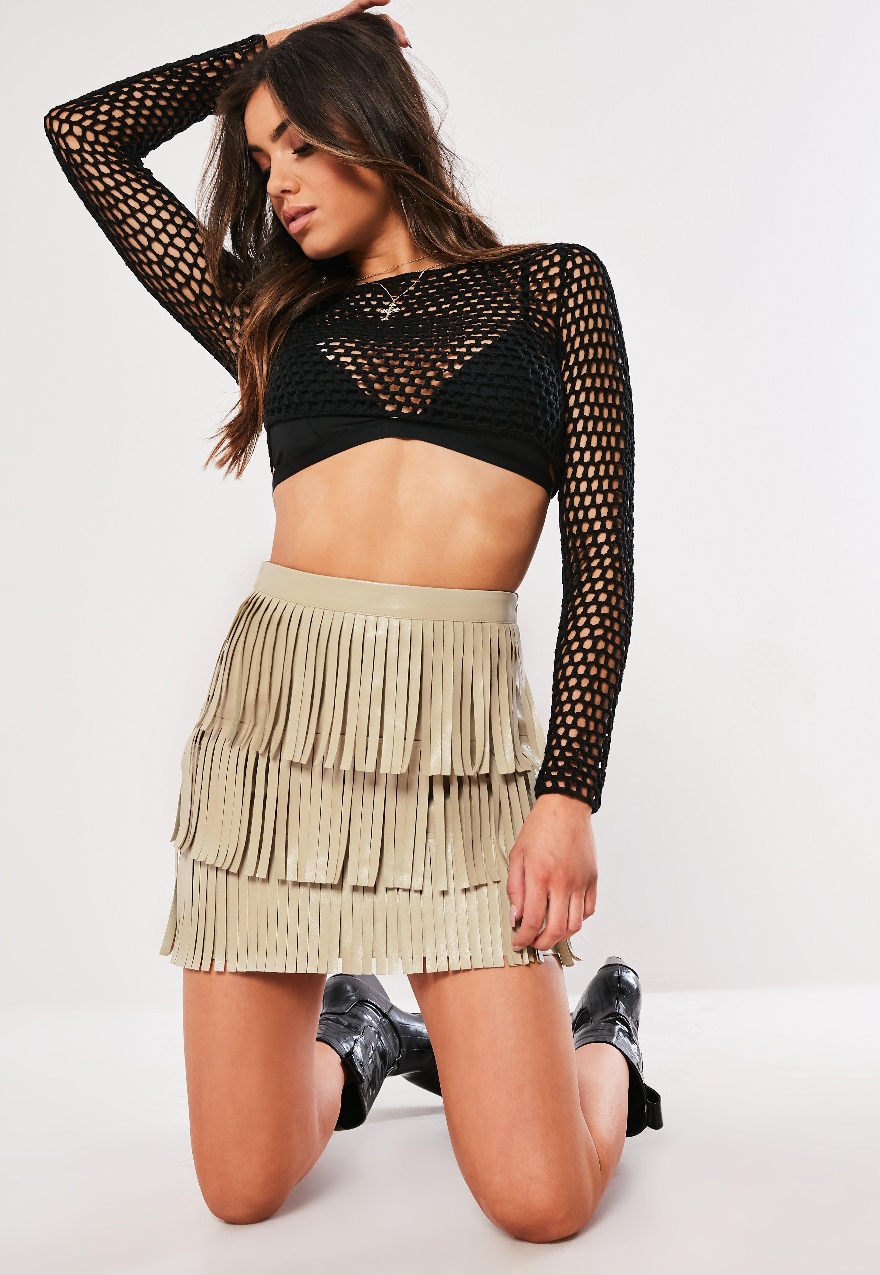 21f13d996e Fringe Clothing | Fringe Dresses, Skirts & Tops - Missguided