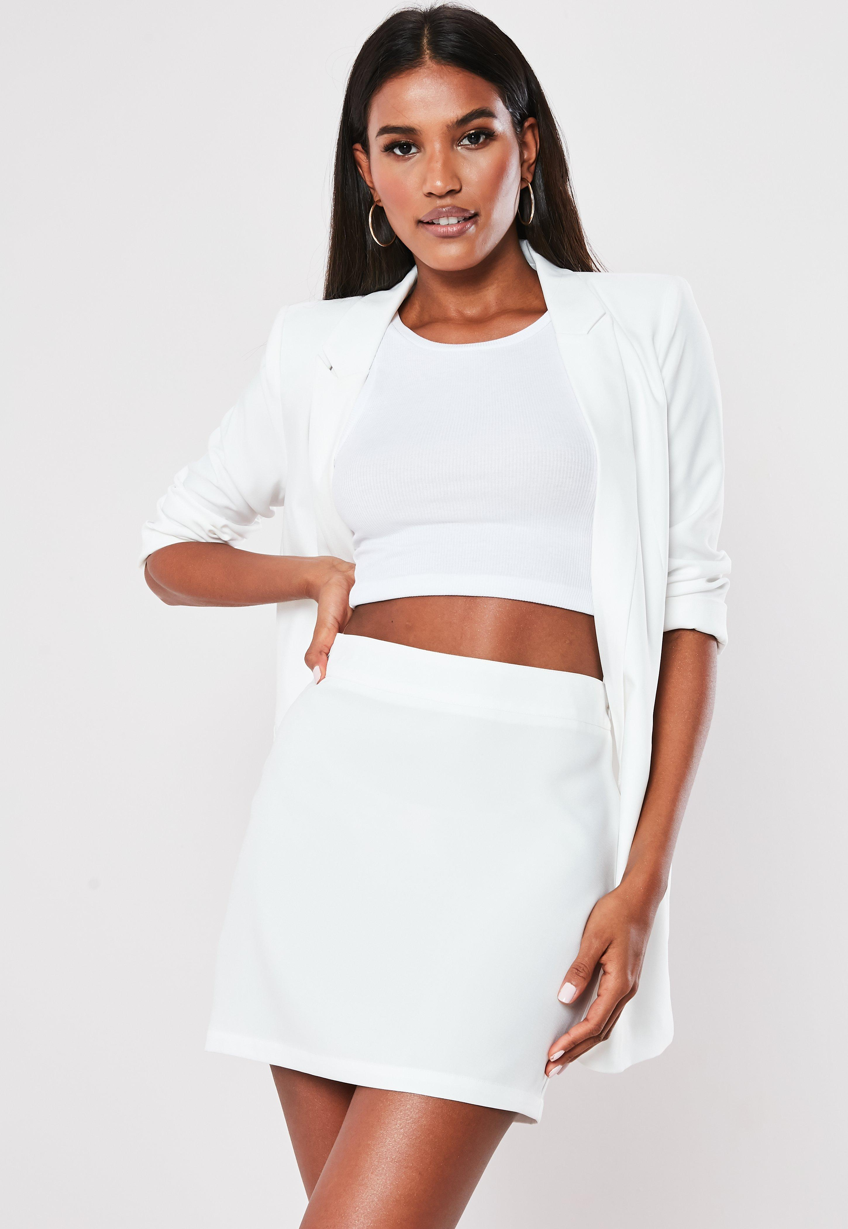 59da2a13d White Skirts | Ivory & White Skirts Online - Missguided