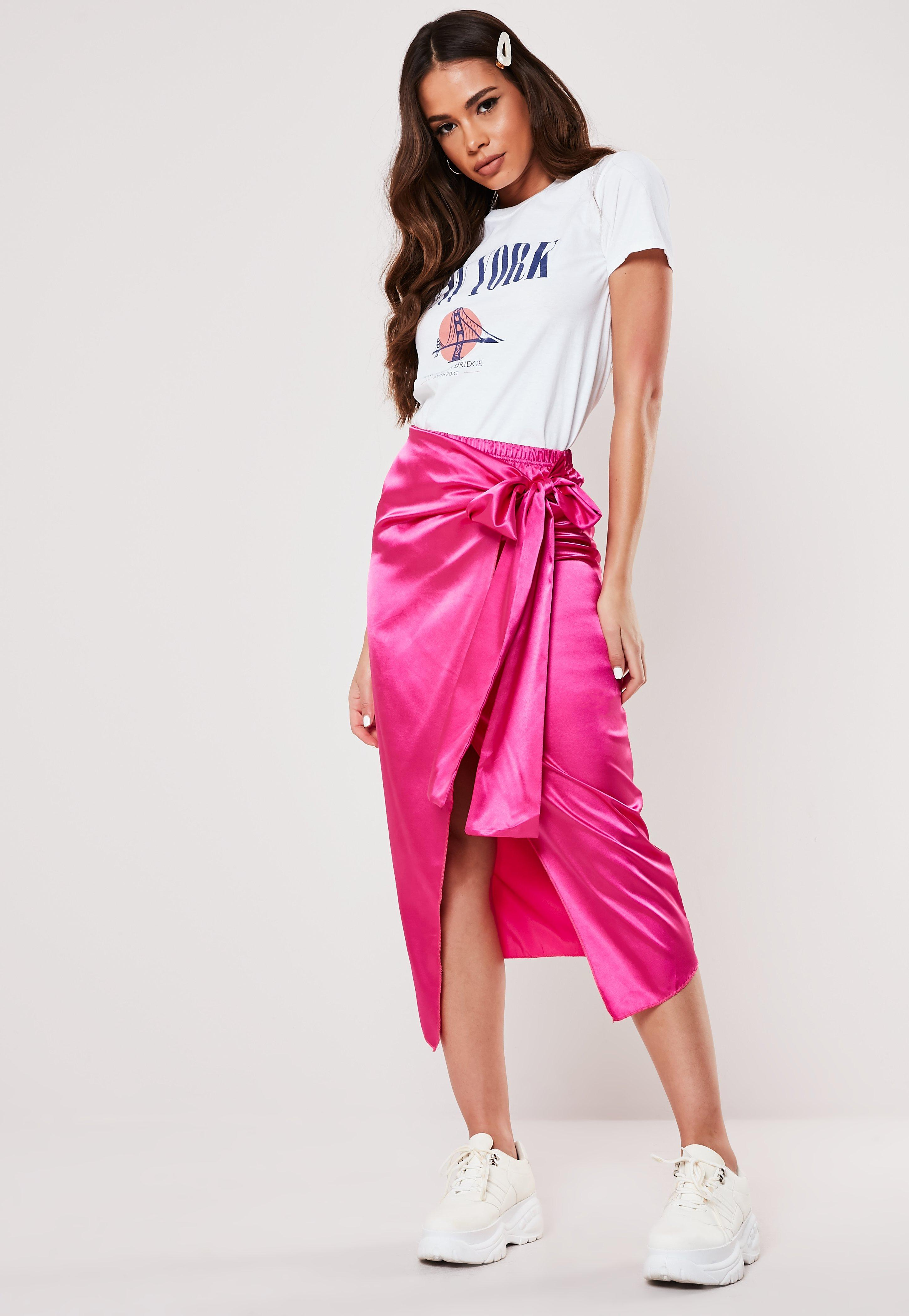 395130b58f Rose Skirts - Missguided – Shop the look online