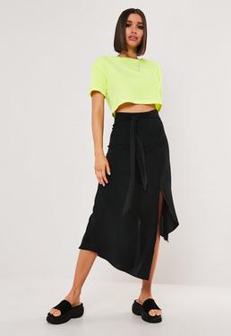 efb12dd0577e Wrap Skirts | Asymmetric & Wrap Over Skirts - Missguided
