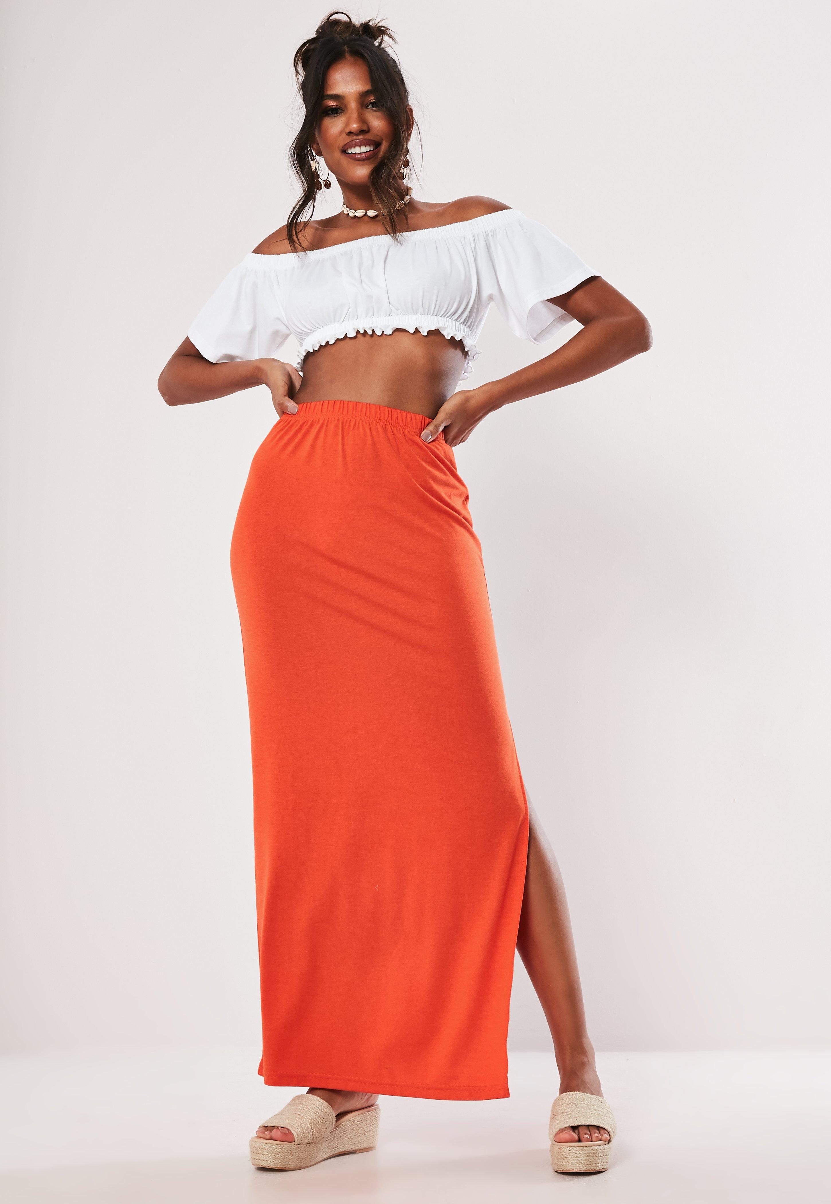 839b6985fc Maxi Skirts | Split & Jersey Long Skirts - Missguided