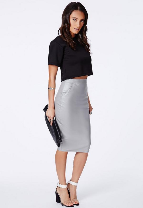 mariota faux leather pencil skirt skirts pencil skirts