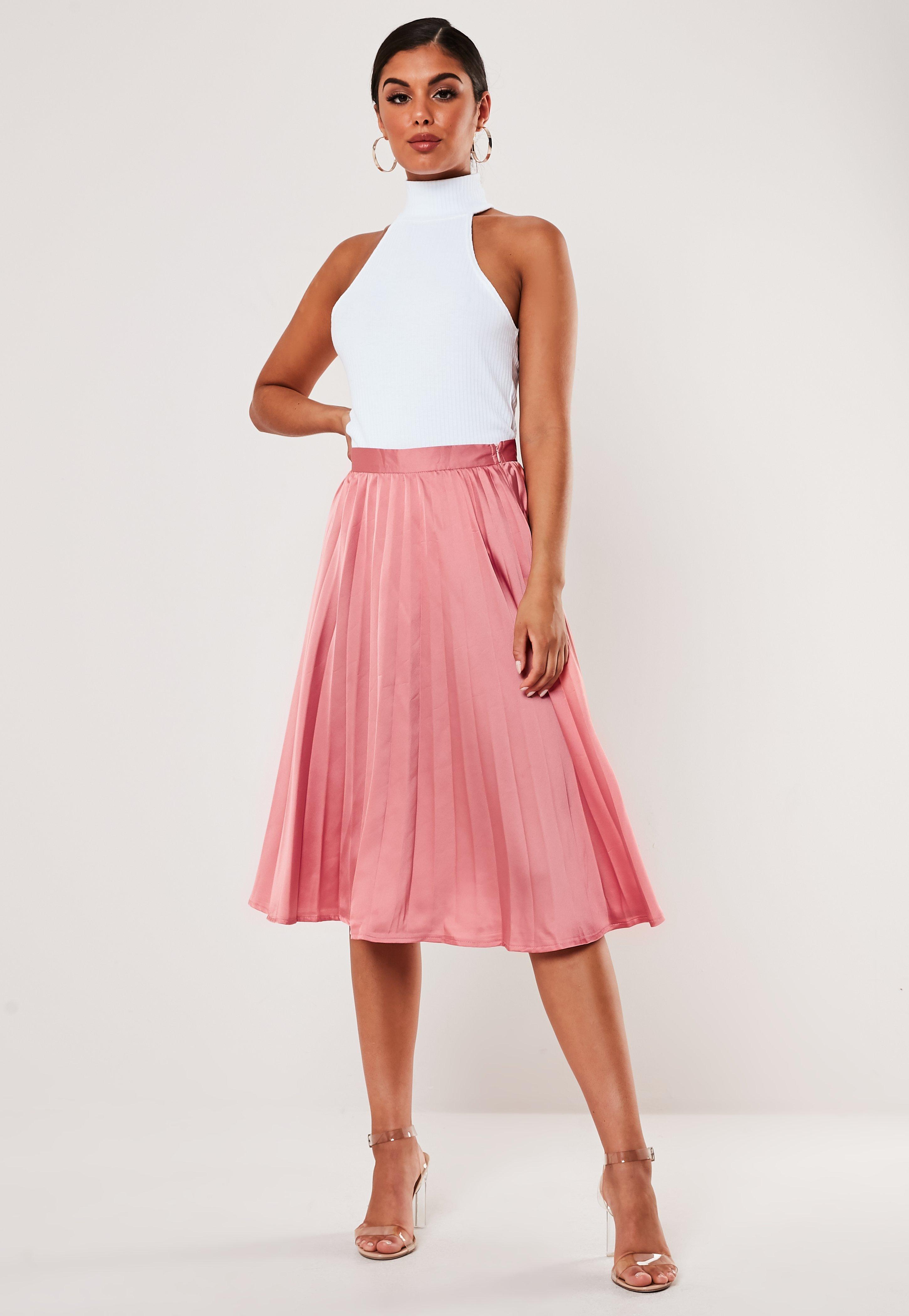 9767639f6 Pleated Skirt & Pleated Midi Skirts   Missguided