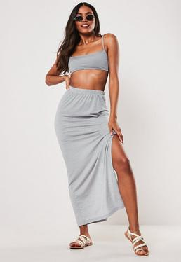 5e105ac7d3be27 Maxi Skirts | Split & Jersey Long Skirts - Missguided