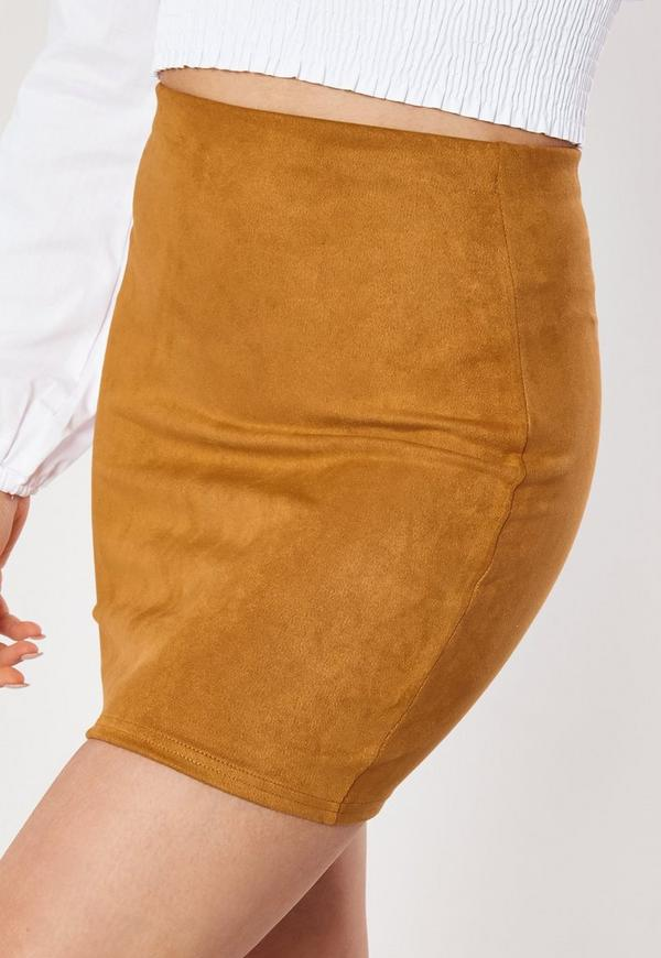 fc81a38db02 ... Mustard Suede Mini Skirt. Previous Next