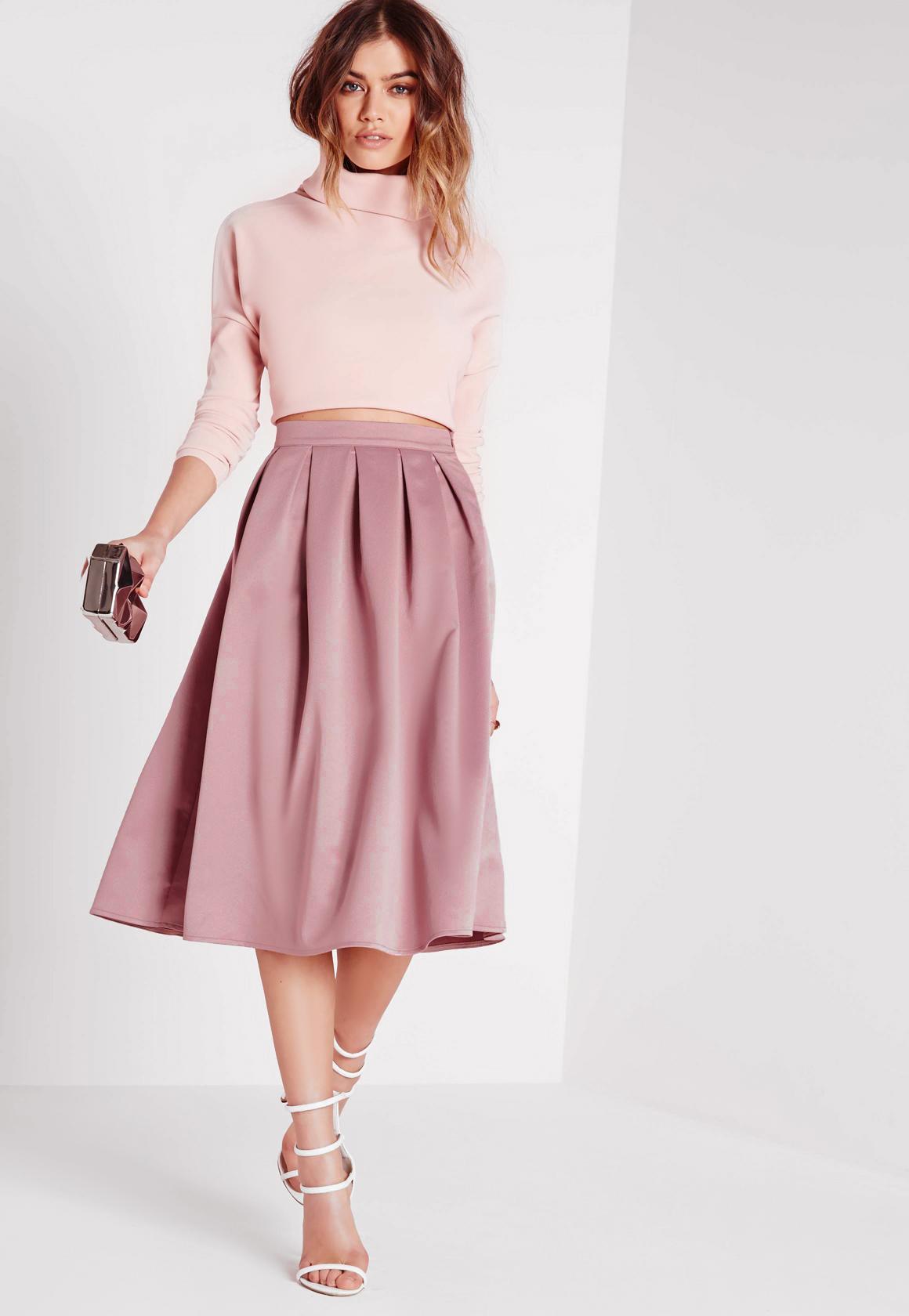 Faldas plisadas | faldas midi plisadas - Missguided