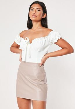 21b5f1fe8a Faux Leather Skirts - PVC & Leather Look Skirts | Missguided