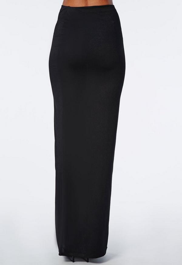 c52102e6c6 2017 cheap lna black pencil skirts for women – double layer pencil skirt  online sale