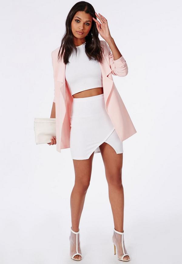 White Wrap Mini Skirt Photo Album - The Fashions Of Paradise