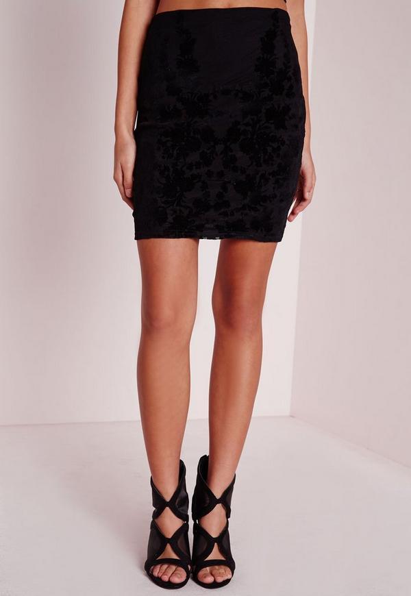 Mesh Mini Skirt 36