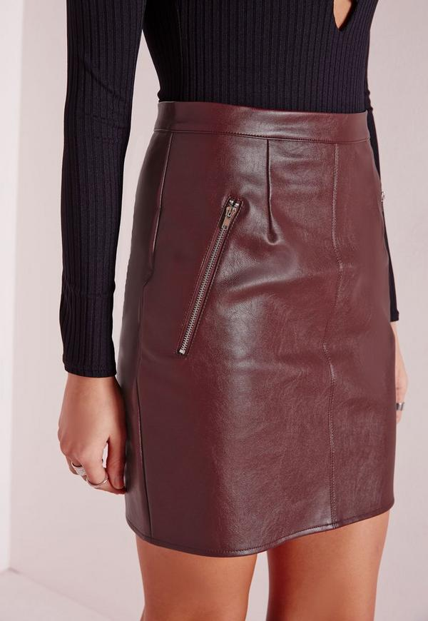 Find burgundy leather skirt at ShopStyle. Shop the latest collection of burgundy leather skirt from the most popular stores - all in one place.