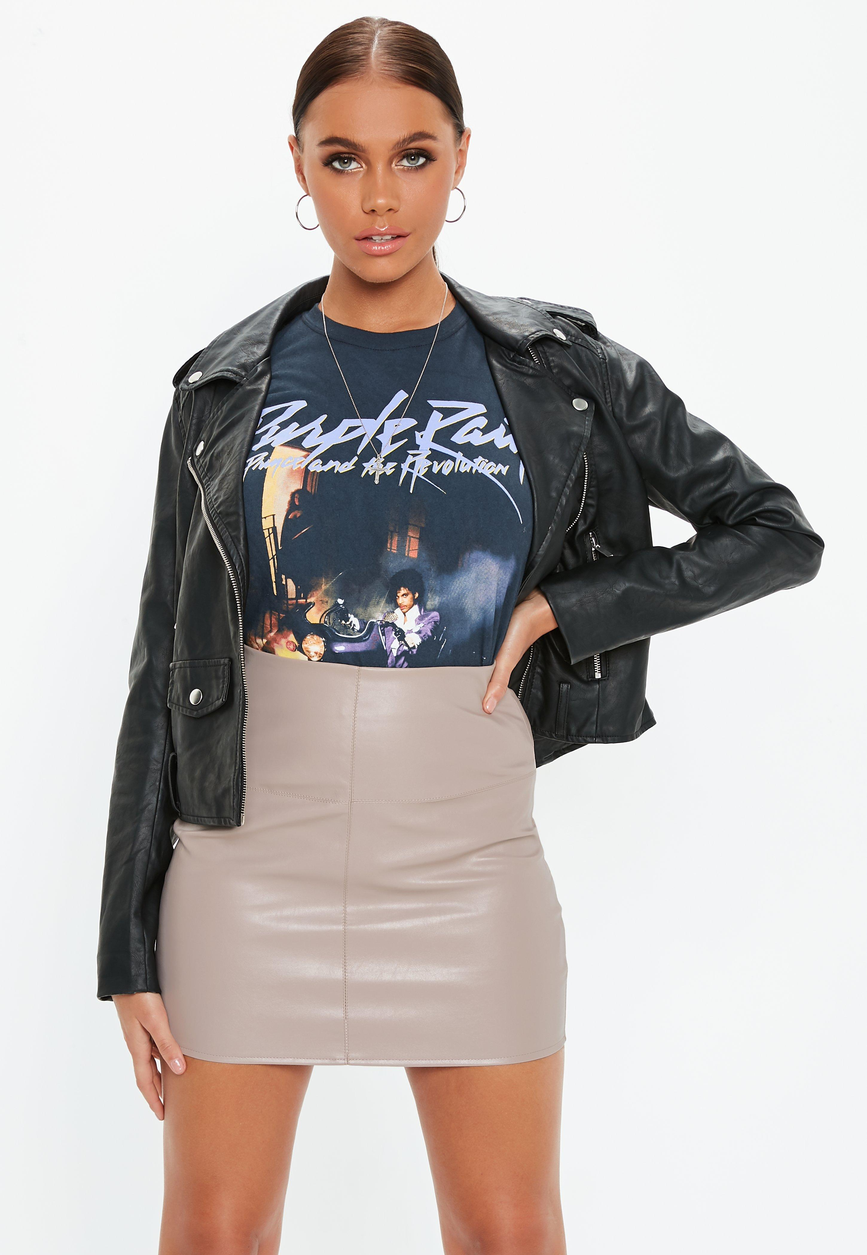 7ddacc296c Faux Leather Skirts & Leather-Look PU Skirts - Missguided