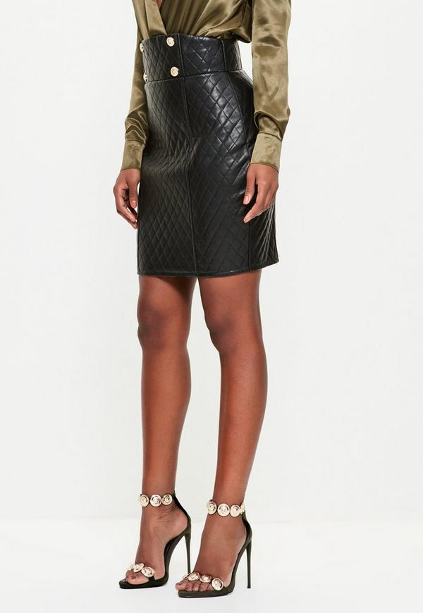 Free shipping and returns on Women's Faux Leather Skirts at loadingbassqz.cf